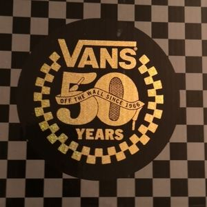 Vans 50th anniversary tote bag and glasses NIB